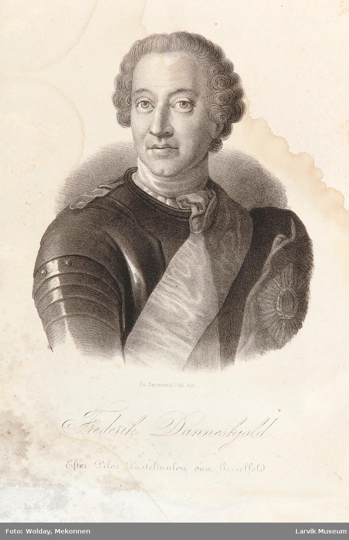 Portrett Frederik Danneskjold