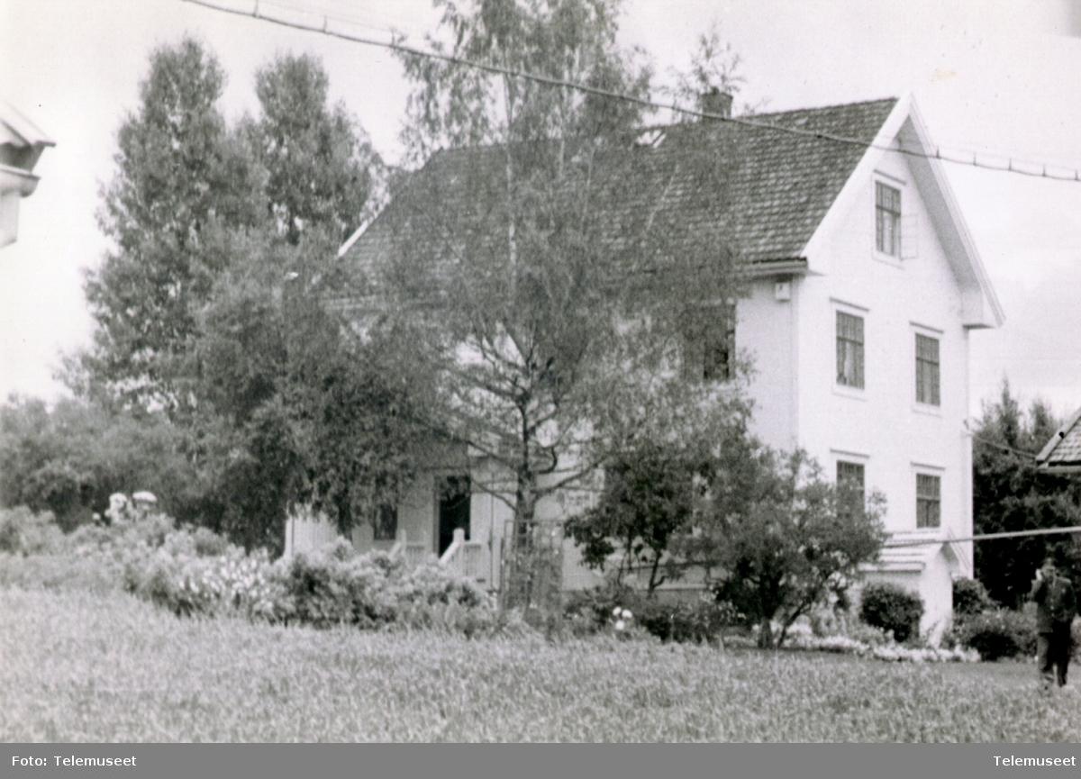 Løten manuelle telefonsentral ca 1955