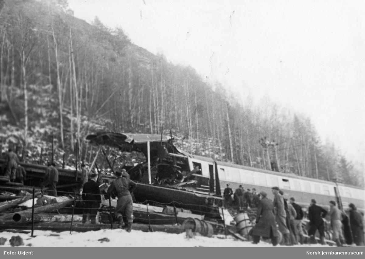 Togulykken ved Hjuksebø 15. november 1950