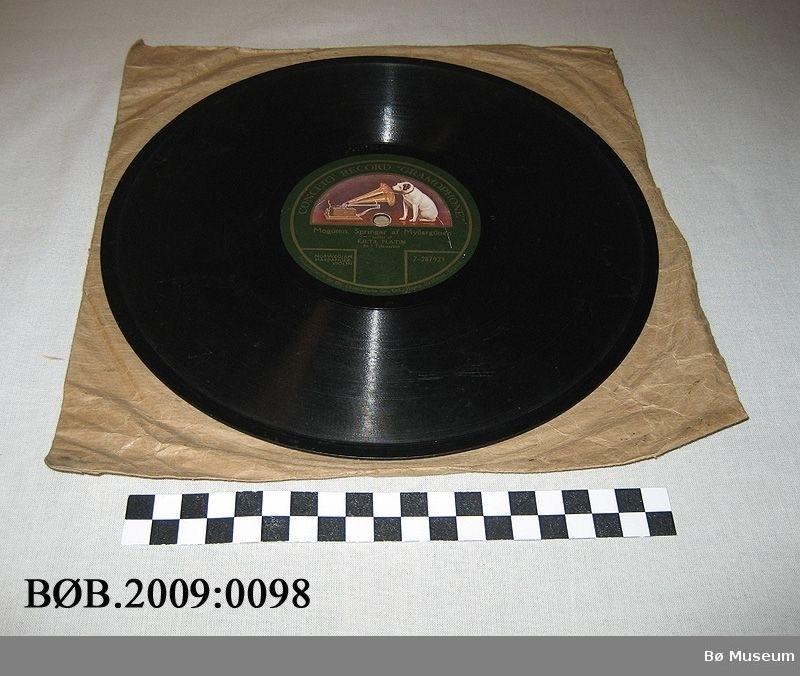 Hund og grammofon