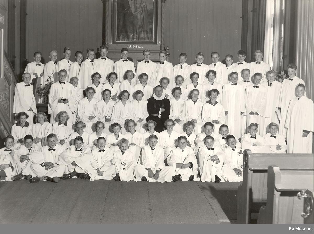 Konfirmasjonsbilde 1957
