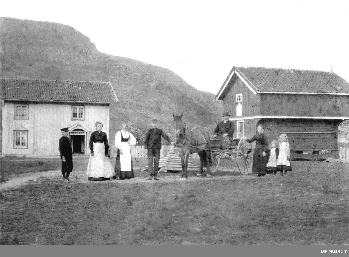 Mæland - Tveitan i Øvre Bø