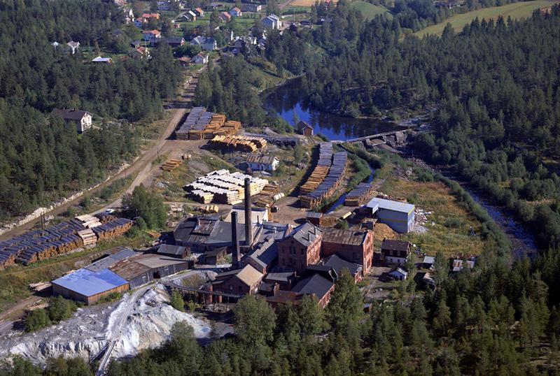 Klevfos cellulose & papirfabrikk 1967