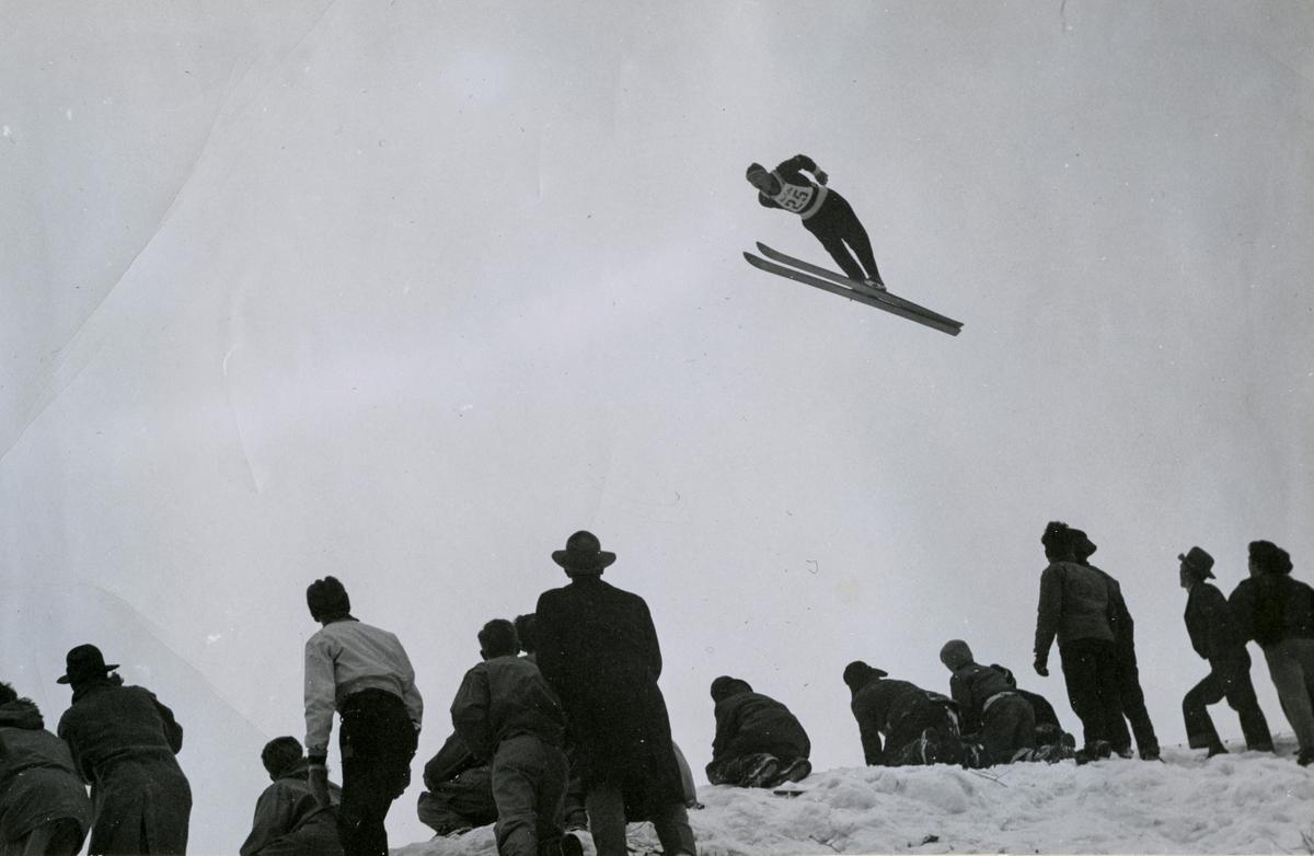 Kongsberg skier Arne Ulland in Salt Lake City