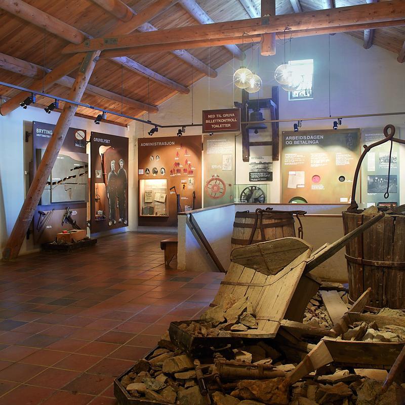 Museumsbygget Olavsgruva