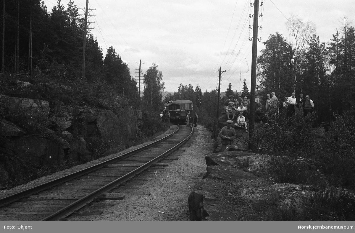 Kollisjon mellom togene 213 og 609 mellom Nittedal og Åneby 7. august 1948 - bakerste vogn i motorvogntoget