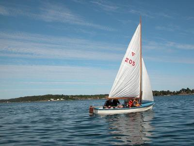 Denne Gresvigjolla er i dag en del av Trebåtsamlinga. (Foto/Photo)