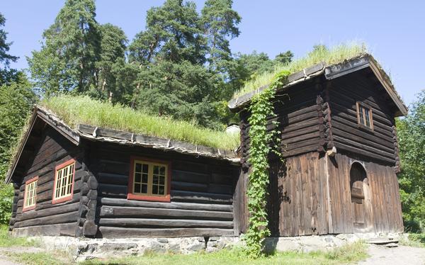 Barfrøstue fra Gammelstu Trønnes. Foto/Photo
