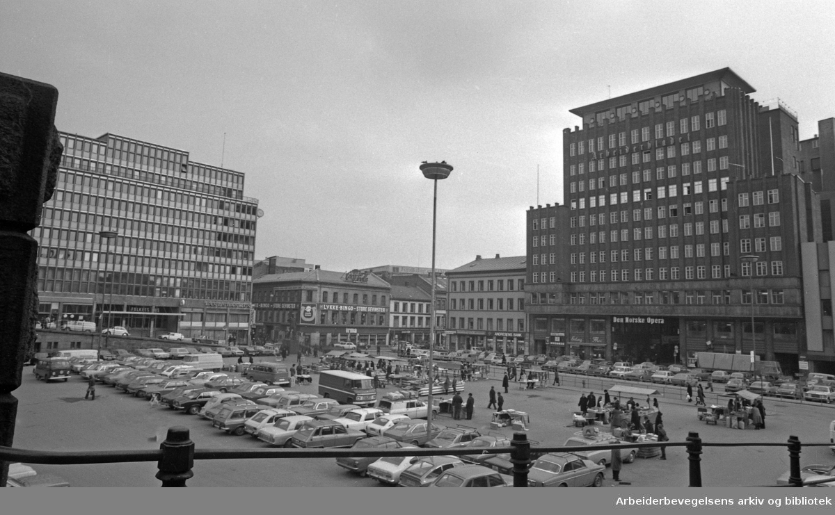 Youngstorget, 1976.