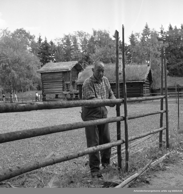 Folkemuséet på Bygdøy. Norsk Folkemuseum..1966.