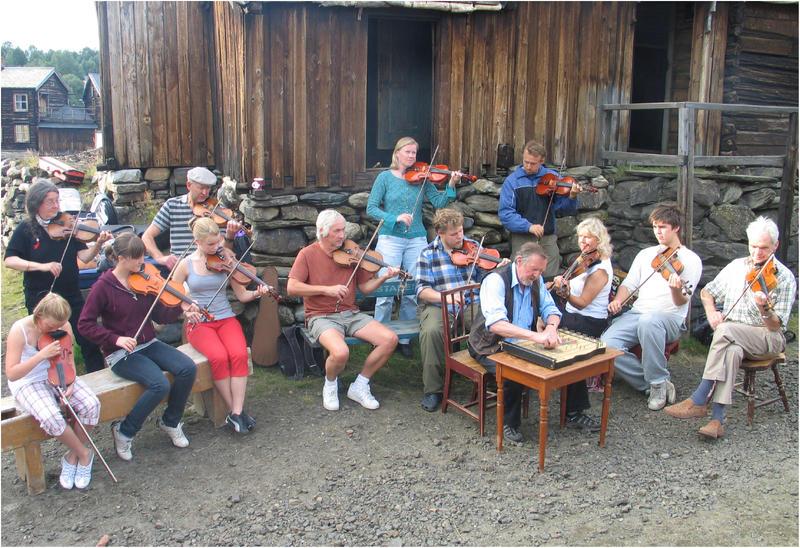 Folkemusikere i Sleggveien
