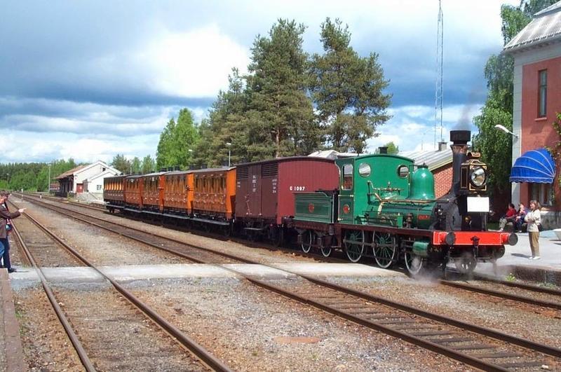 Damplokomotivet Caroline