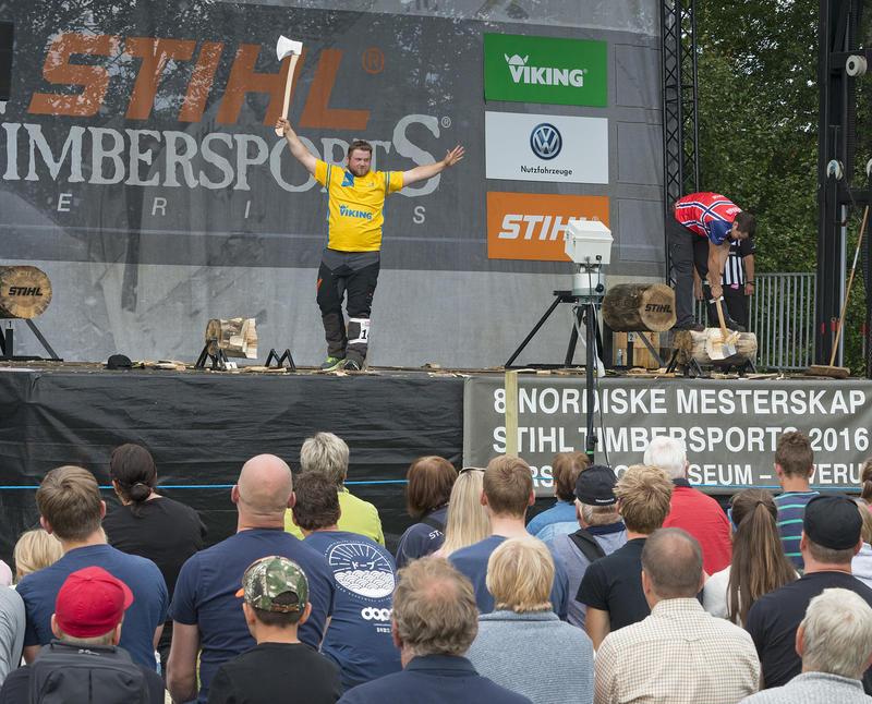 Nordisk mesterskap Stihl Timbersport 2016