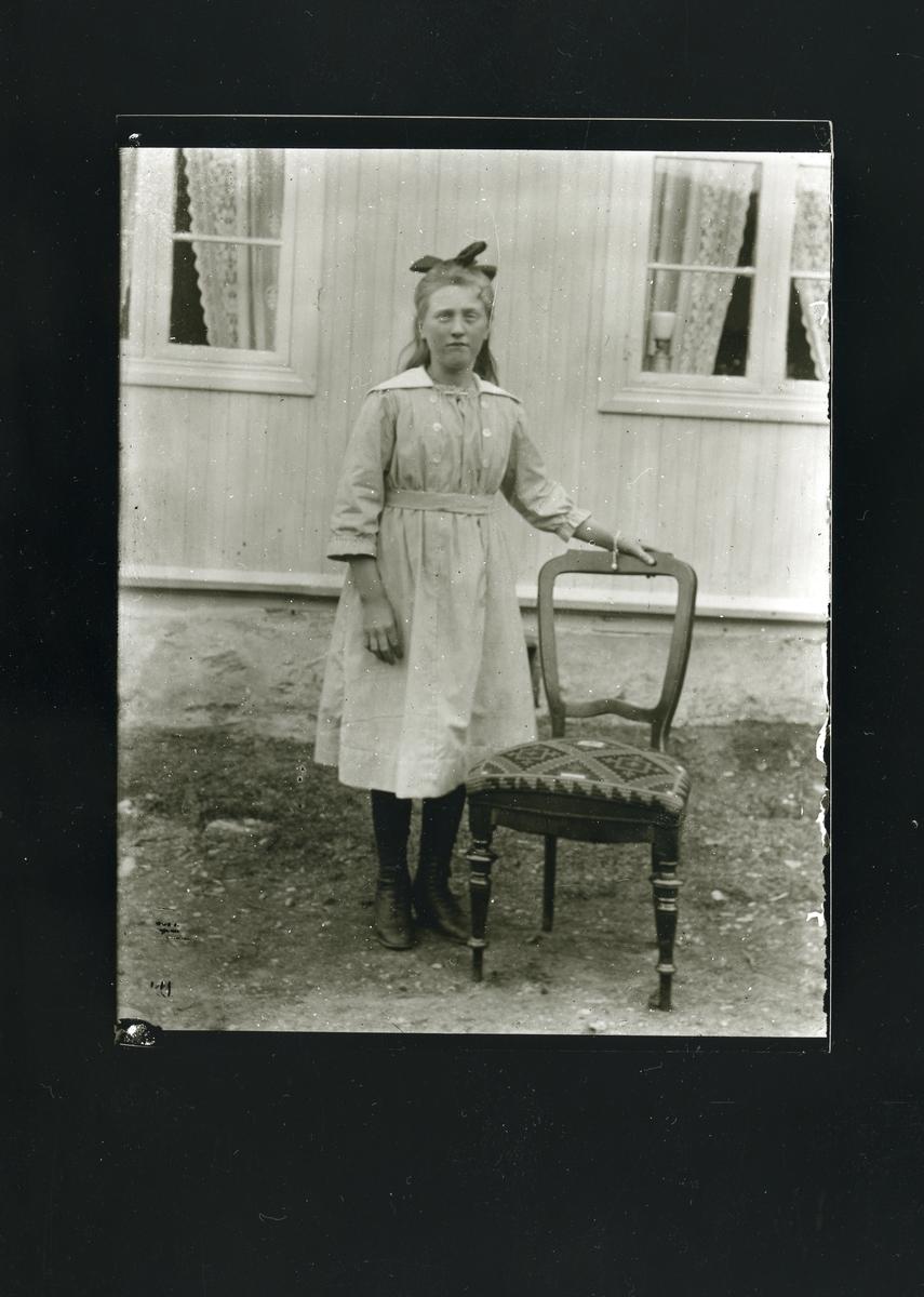 Portrett av Martha Fønhus.