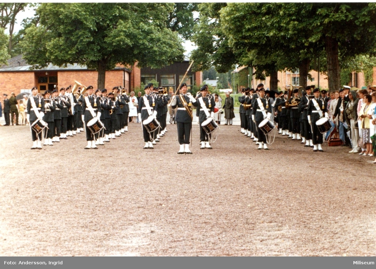 Arméns musikpluton. Kaserngården, A 6.