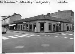 Grönsaksbutiken Potatishuset i Uddevalla 1972