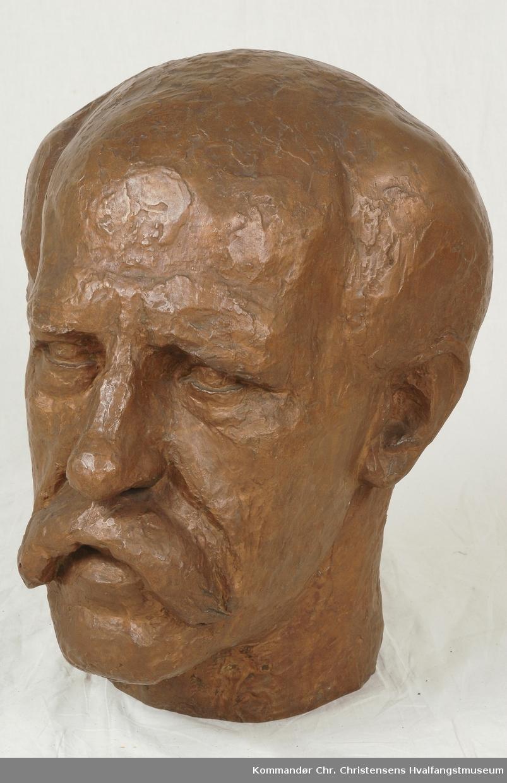 Frithjof Nansen, byste.