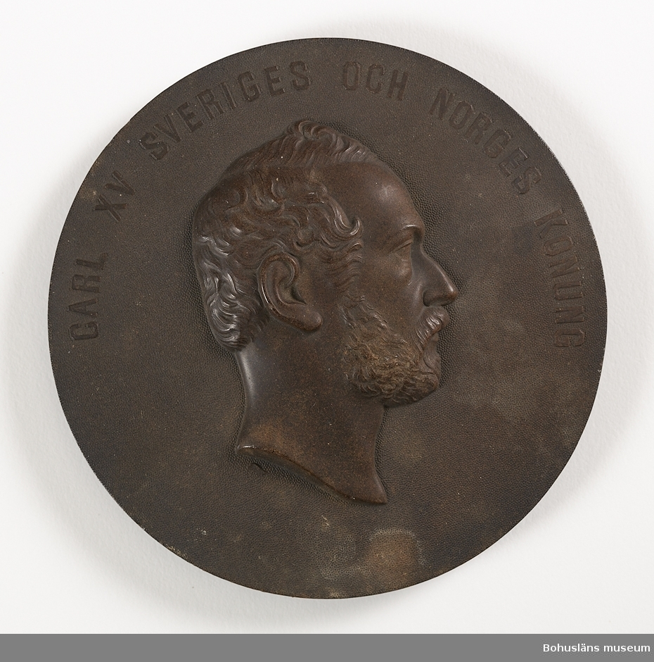 Kung Karl XV (1826-1872); kung av Sverige och Norge från 8 juli 1859 fram till sin död 18 september 1872