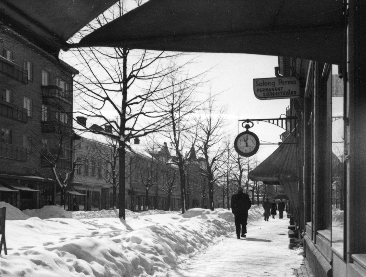 Karlstadsbild tagen i mitten av 1950-talet.