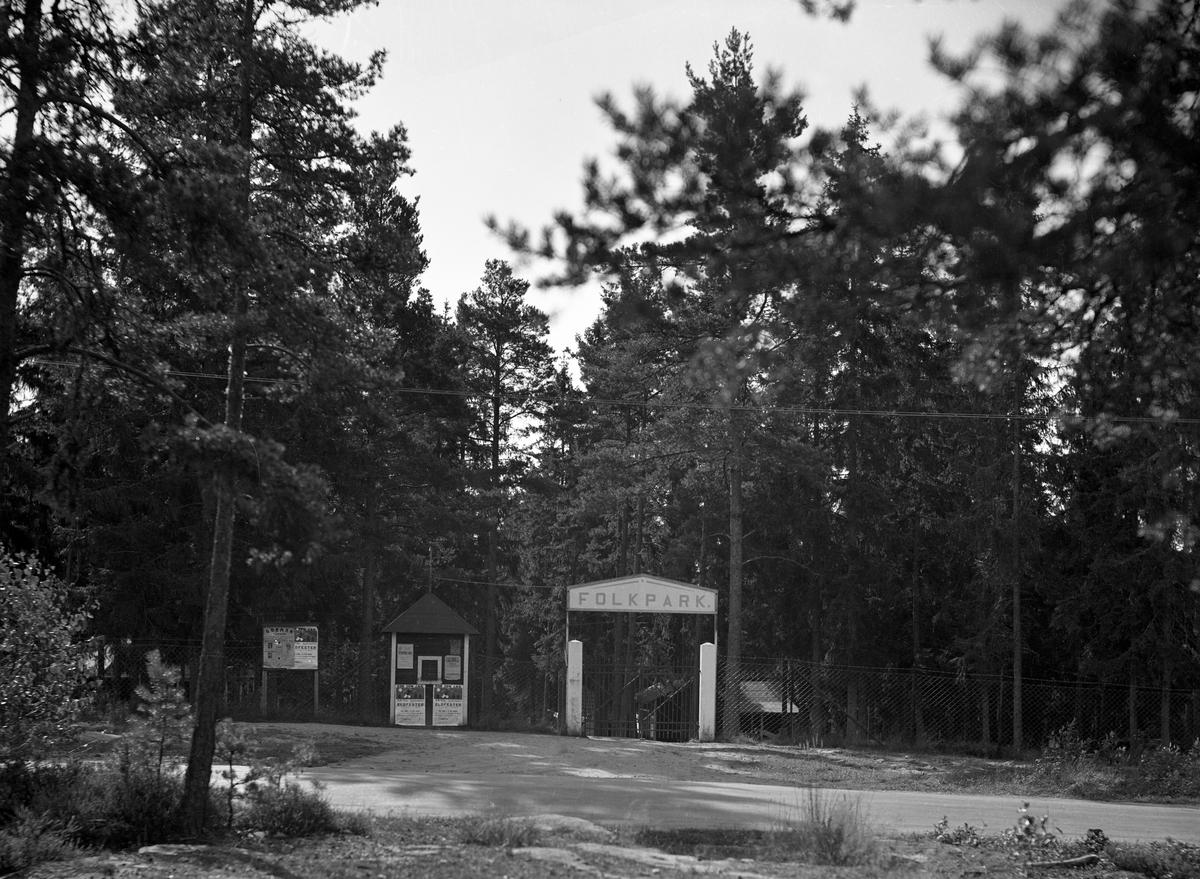 Värmlandsvy: Folkpark