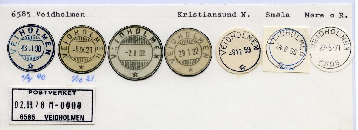 6585 Veidholmen (Veiholmen), Kristiansund, Smøla, Møre og Romsdal
