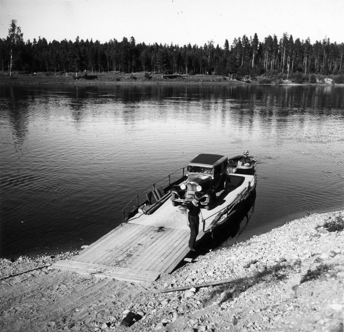 Färjställe i Laforsen (Kårböle).