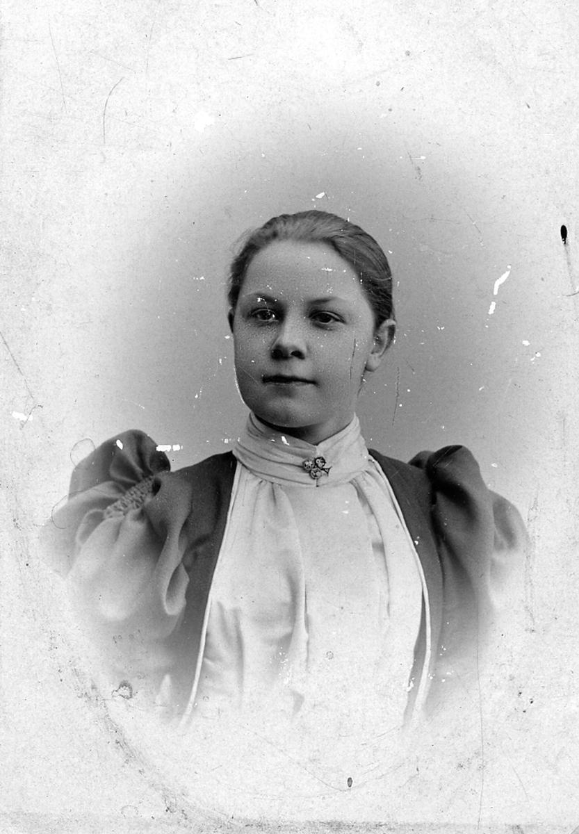 Ester Hagman, född Vogel. Dotter till stadsfiskal August Vogel.