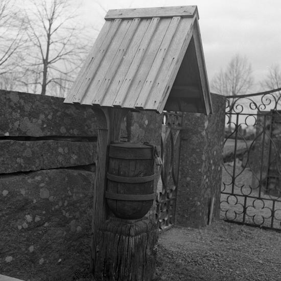 Sjösås nya kyrka. Fattigbössa. 1964. - Kulturparken Småland ... 675d88e2f1ede