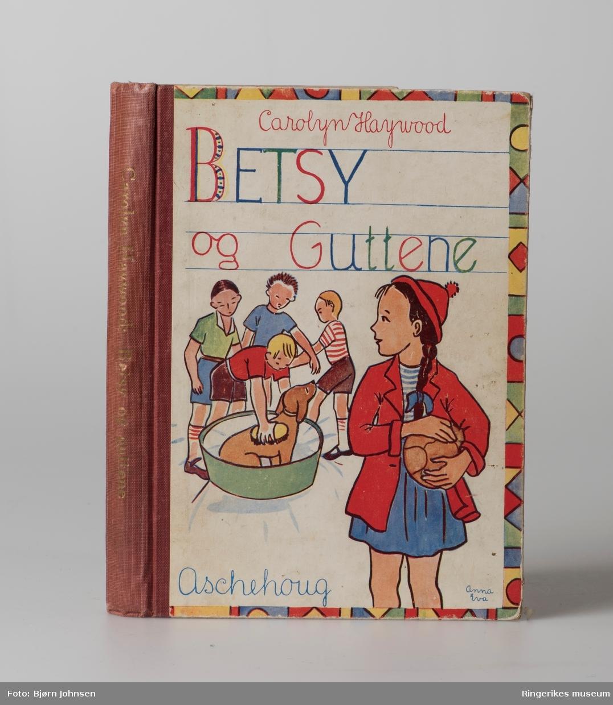 Guttebok: illustrasjon av Tarzan; Jentebøker (2) illustasjon av barn og jenter,; Eventyrbok: store blader i farger