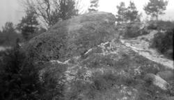 """Foto av """"Offersten""""  från Tävelsås socken."""