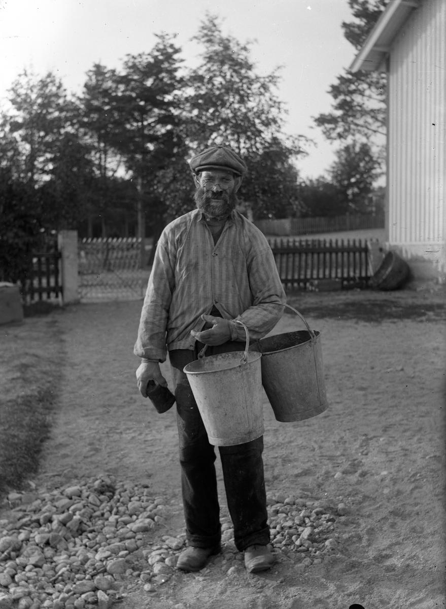 """Pelle-Jack"", ett original på gamla kommunhemmet."