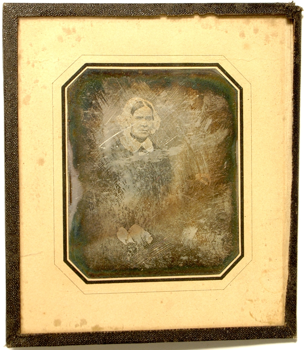 Daguerreotyp av okänd kvinna.