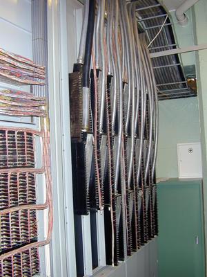 Telefonsentraler. Nødsentralen Åsen, interiør 2