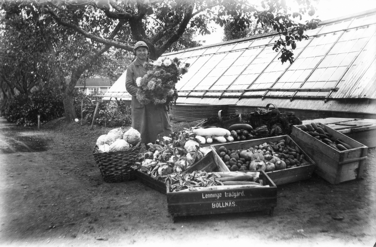 Tilda Eriksson, dotter till trädgårdsmästaren.