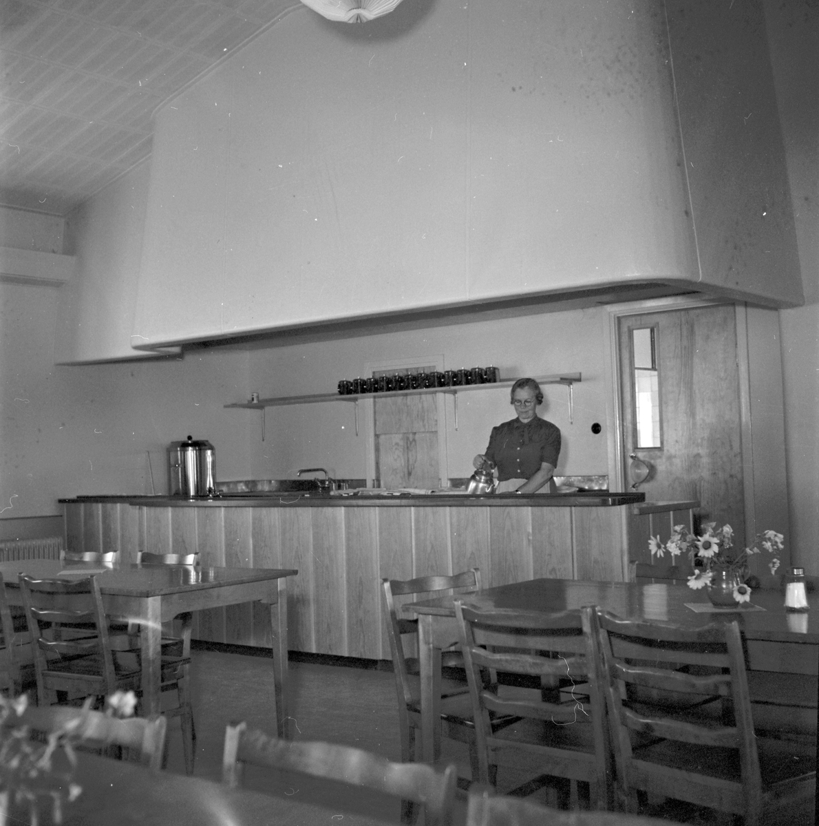 Västerbergs Folkhögskola, Storvik 40 årsjubileum i samband med renovering. 2 oktober 1950.