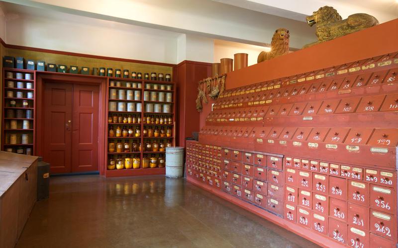 Urtekammeret i Farmasimuseet (Foto/Photo)
