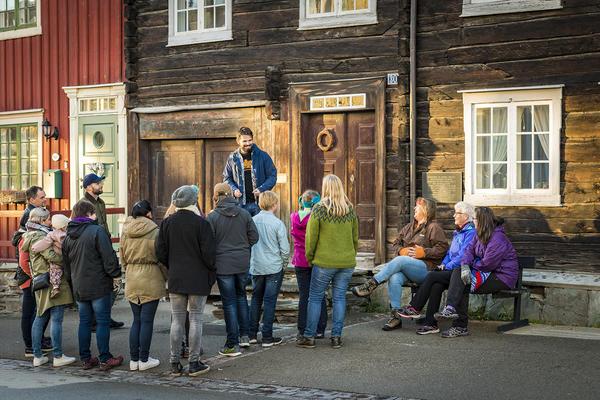 Bergstadvandring. Foto/Photo