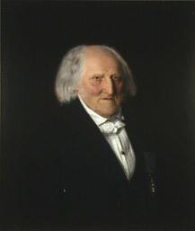 Portrett av Steenstrup. Mørk drakt. (Foto/Photo)
