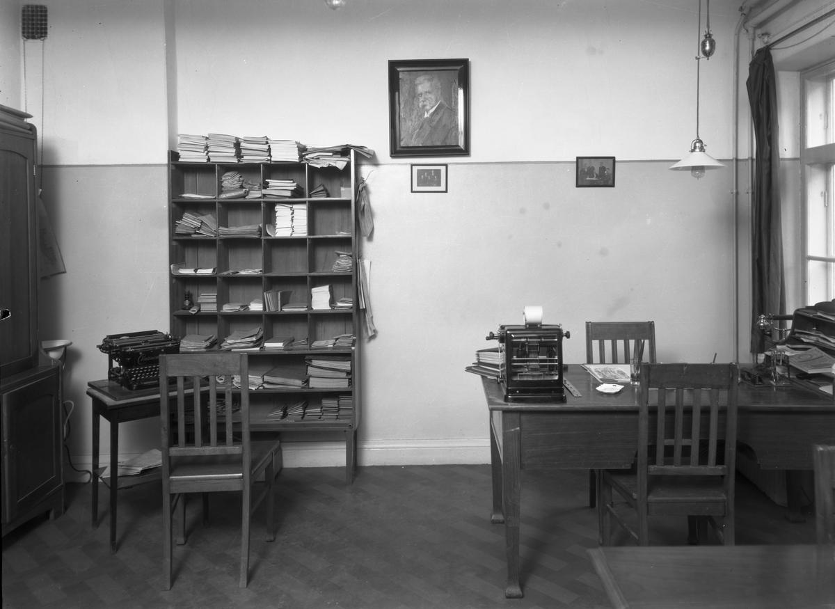 Folkets Hus. 24 november 1930. Fastigheten inköptes 1918 och invigdes 28 april samma år. Inreddes med festvåning, samlingssalar och 42 expeditionsrum. Beställt: Arbetarbladet