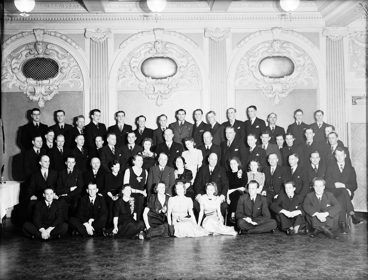 Hakonbolagets fest på Gamla Grand  25 april 1939