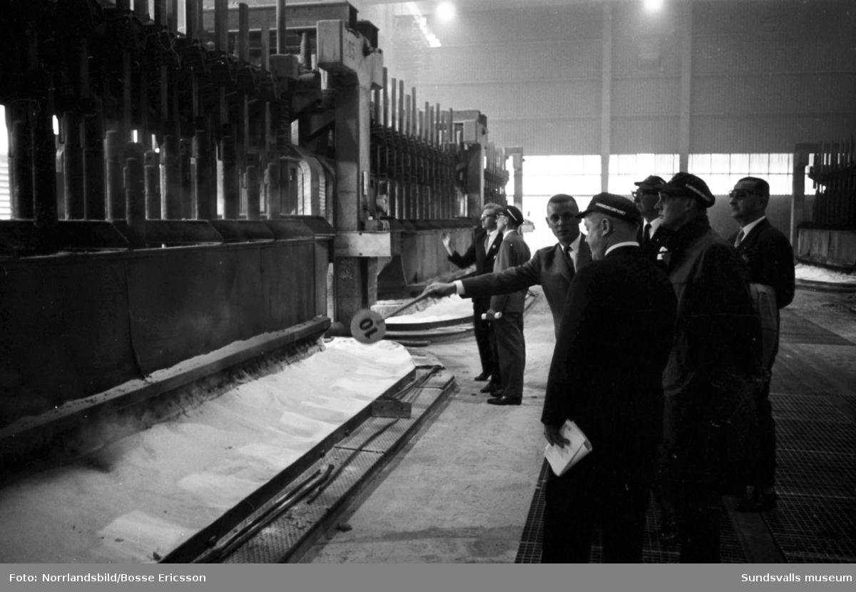 Alumiiumkompaniets invigning av nybygget vid Kumo.