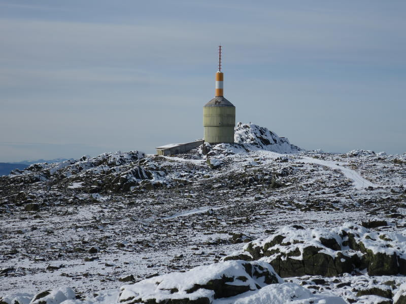 Hovedsender. Tronfjell (Foto/Photo)