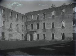 Borgholms slottsruin.