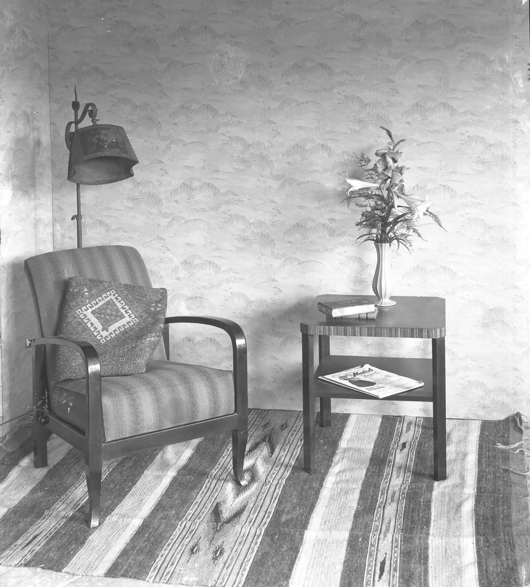 Tapetutställning på Duro Tapet, april 1937