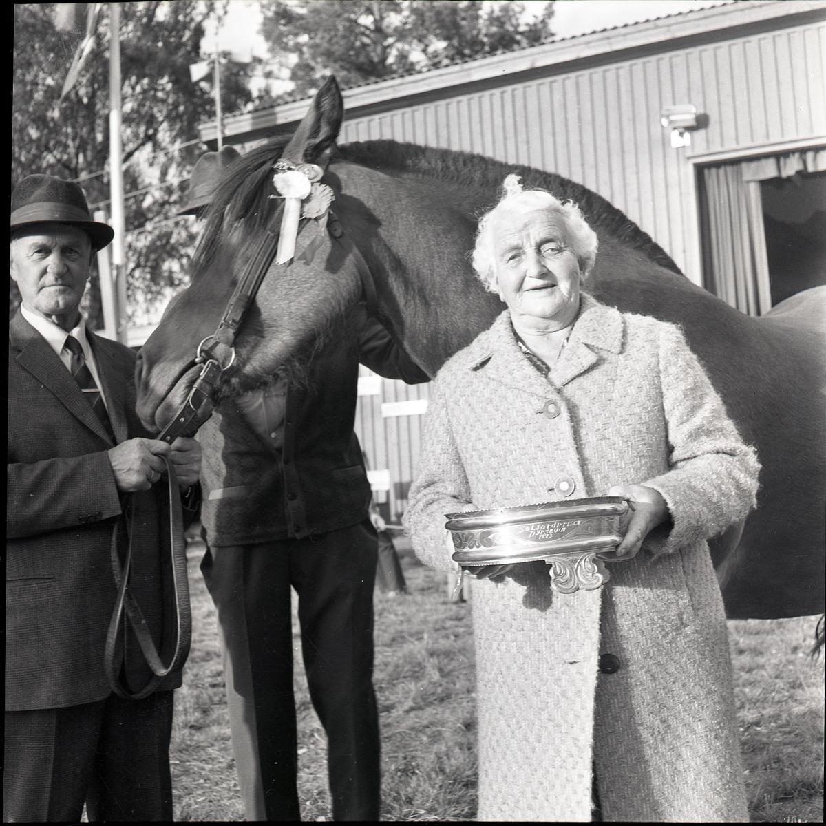 Ellen Haatveit med Seljordprisen i 1973.