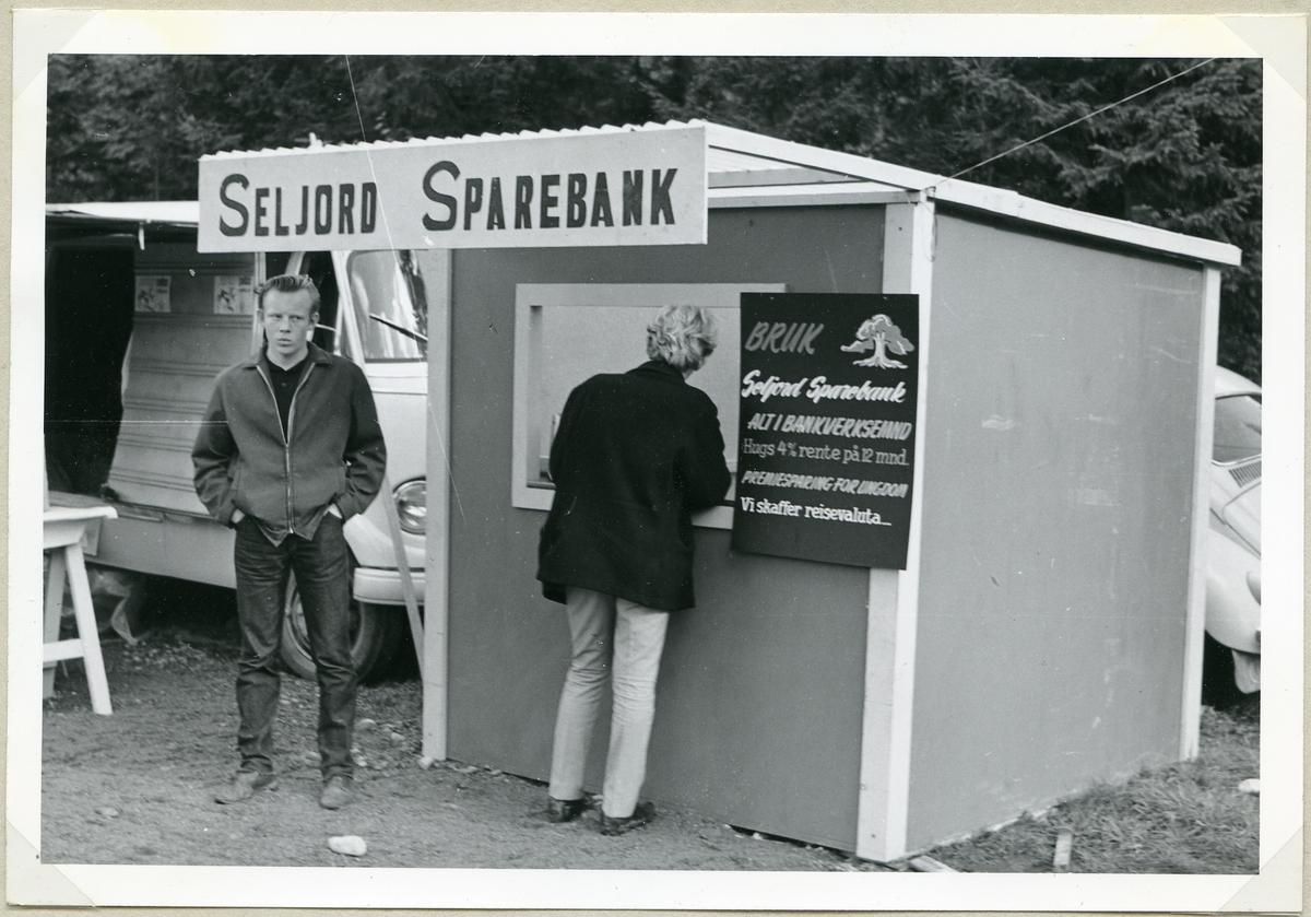 Seljord Sparebank sin stand.