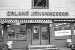 Erland Johannesson, affär i Vassbotten