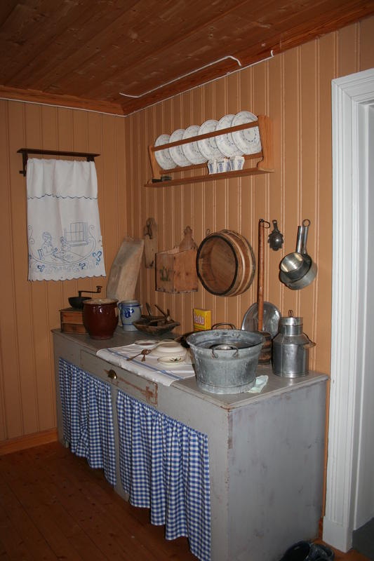 Kjøkkenet, Sagstua skole (Foto/Photo)