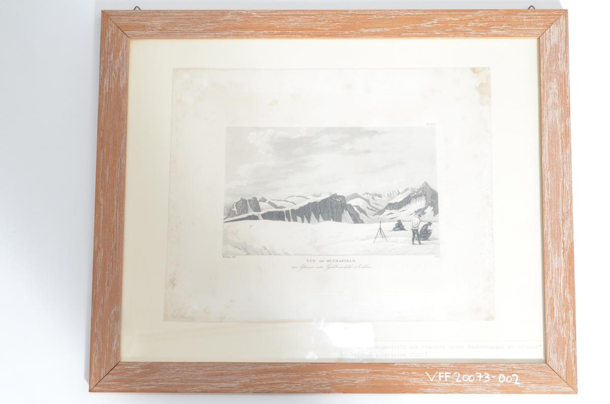 Motivet viser utsyn over Mugnafjell