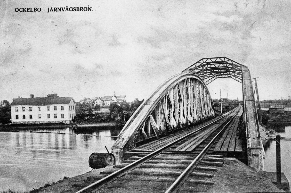 Järnvägsbron, Ockelbo.